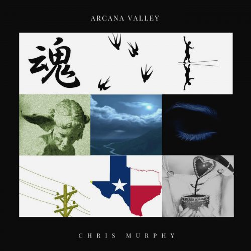 Arcana Valley ~ Chris Murphy (album cover artwork)
